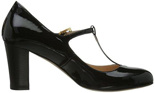 Scarpe Da Donna Evita Pumps Chiuso T-heel Pumps Nero (nero)