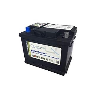 Q-Batteries Starter- und Versorgungsbatterie AGM 560 01 12V 60Ah 640A 7,50 EUR Pfand