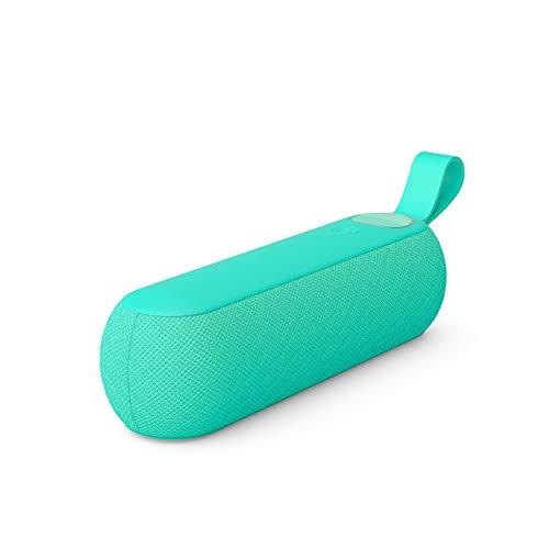 Libratone TOO Bluetooth Lautsprecher (360° Sound, Touch Bedienung, IPX4 Spritzwassergeschützt) Karibik Grün