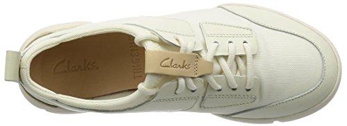 Clarks Tri Seele Damen Sportschuhe White Combi