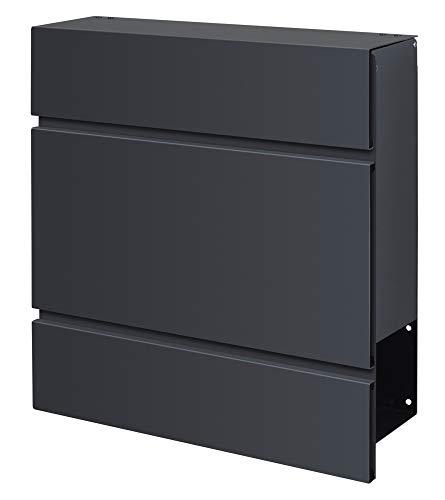 Frabox LENS Briefkasten Anthrazitgrau Design - 6
