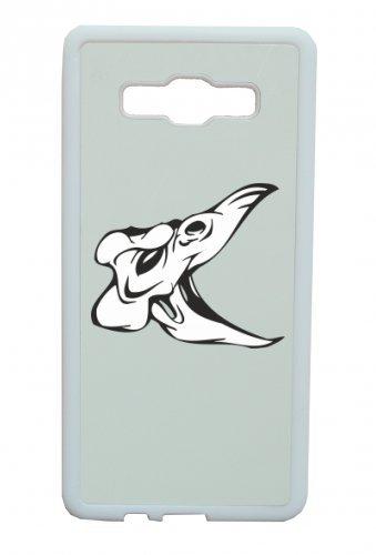 Smartphone Case dinosauro Cranio Teschio di uccello con Maul aperto scheletro rocker Frecce Club Gothic Biker Skull Emo Old School per Apple Iphone 4/4S, 5/5S, 5C, 6/6S, 7& Samsung G