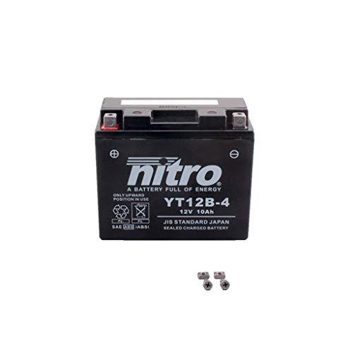Batterie 12V 10AH YT12B-4 Gel Nitro 696 Monster M5 08-14 -
