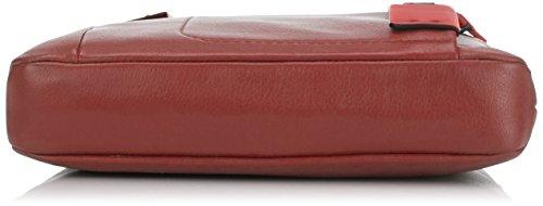 Piquadro CA1358P15/BLU Borsello, Linea Pulse, Blu, 26 cm Rosso