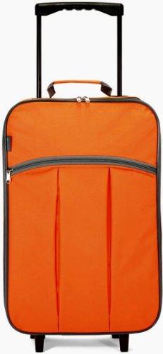 "Maleta cabina plegable especial ""low cost"" (Naranja)"