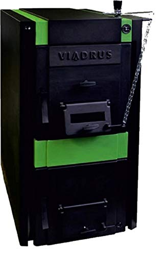 Guss-Abbrennkessel Festbrennstoffkessel für Holz, Kohle und Koks