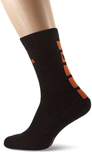 erima Classic 5-C Socken, schwarz/orange, 35-38