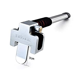 FREESOO Auto Steering Wheel Lock Car Anti-theft Lock Safety Sicherheitshammer Auto Diebstahlsicherung Lenkradkralle, Lenkradschloss