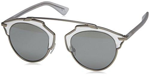 Dior Damen Diorsoreal Lr Sonnenbrille, Schwarz (Matte Silver Crystal), 48