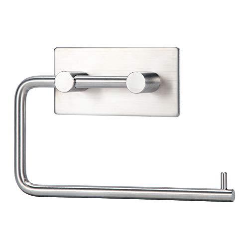 LEBEXY Toilettenpapierhalter Klopapierrollenhalter Ohne Bohren | Klorollenhalter zum Kleben | Papierhalter Selbstklebend