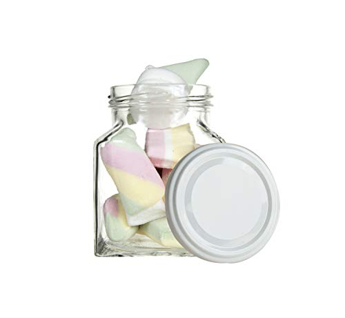 armeladengläser 314ml-Einmachgläser mit farbigem deckel TO63-Einmachglas klein H 7,1cm-Dessertgläser/Marmeladengläser-Jars-Sturzgläser-Schraubgläser-Canning Jars-Einkochgläser. ()