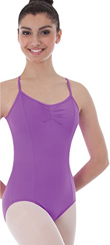 Body Wrapper Womens Camisole Princess Seam Ballet Leotard (BWP225) -White -S -