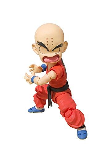 Mattel Krilin Junge Figur 10 cm Dragon Ball SH Figuarts, Mehrfarbig (BDIDB551375)