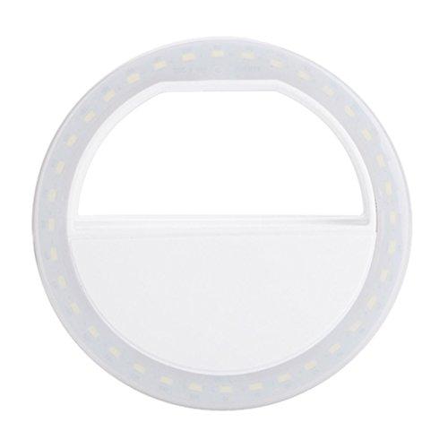 UEETEK LED Flash Selfie Lampe Ring für iPhone Android Handy