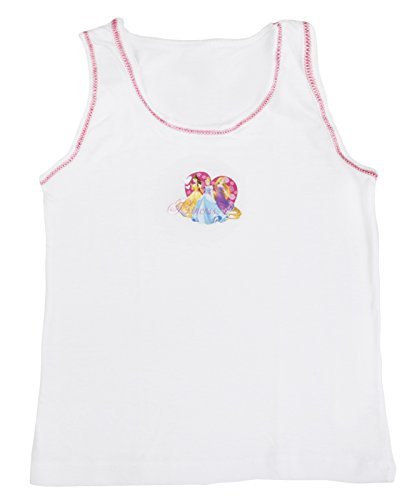 2c63aa2d3 Childrens Kids Girls Toddlers 2 Pack Character Underwear Vests Set ...