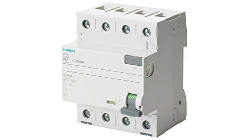 Siemens 5SV3344-6 FI-Schutzschalter 40A 3+N 30mA 400V