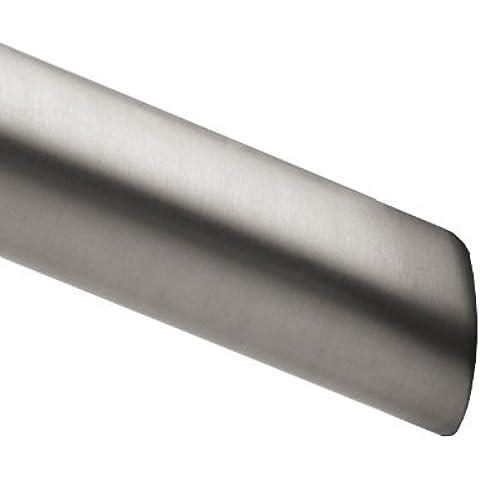 Moen 2–102–5BS 5FT. Barra de ducha curva sólo en cepillo níquel