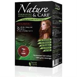Santé verte - Nature & soin Rouge Feu 6RR sans ammoniaque, sans paraben, sans silicone et sans résorcine