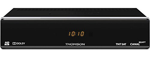 Thomson THS804 - Receptor satélite HD, (MPEG4, USB, 12 V), color negro