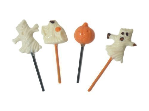 114 mm x 4 mm, Halloween Lollipop Sticks-Lollistiele-Cake Pop Sticks ^50