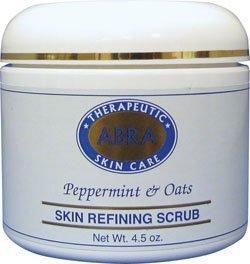 abra-therapeutics-skin-refining-scrub-peppermint-oats-45-oz-by-abra-therapeutics