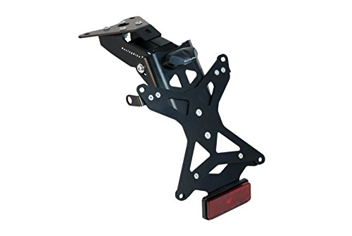 Racingbike x4978-k Kennzeichenhalter für Aprilia RSV4/FACTORY 09–18, Tuono V4/Factory 11–18, schwarz