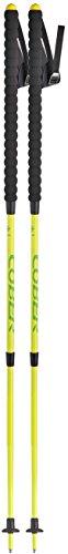 cober Tre, bastones ajustable de Trail Unisex–Adultos, Amarillo neón, de 70a 125