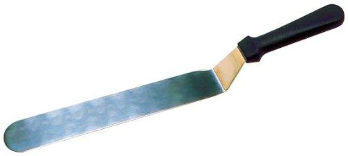 Matfer - Spatola per cuoco in acciaio inox, lunghezza 205