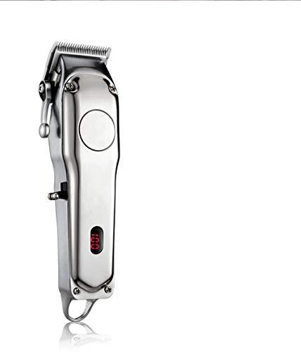 Profi-Haarschneidemaschine für Akku- und Netzbetrieb, Elektrischer Haarschneider aus Metall für Herrenhaarschnitt, kompatibel mit Moser Barber