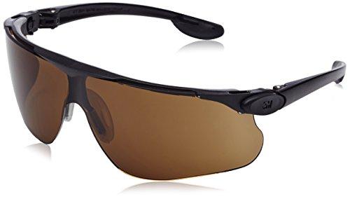 3M MaBall3S Maxim Ballistic Schutzbrille, DX/UV, PC, Bronze/Schwarz