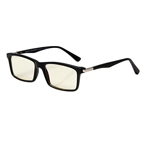 JO JO7600G/BK Designer-Computerbrille, Anti-Blendschutz und Kratzfeste Linse, Lesebrille