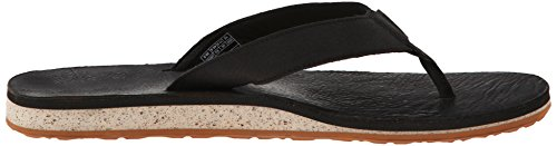 Teva Classic Flip Premium M's Herren Sport- & Outdoor Sandalen Schwarz (black 513)