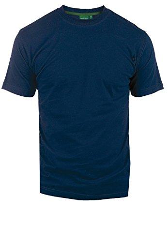 D555 Herren T-shirt Duopak Marineblau