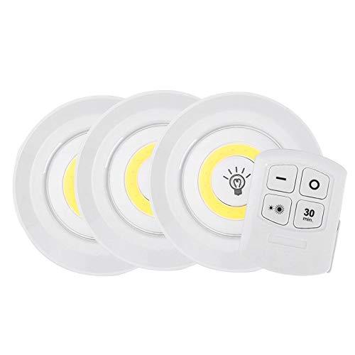 Menschlichen Körpers Eingestellt (Zartk Nachtlicht - Kabelloser Fernbedienungsschrank Sensor für den menschlichen Körper Nachtlicht, kann zeitgesteuert werden LED-Lichtkasten Licht Kabellose Fernbedienung Aufhängung Aufladen Weißes Sc)