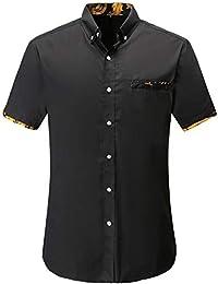 5f3697c56e98d Amazon.fr   Manches courtes - Chemises   T-shirts, polos et chemises ...