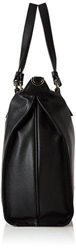 Pollini - Pollini Bag, Borsa con Maniglia Donna Nero (nero)