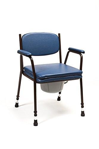 Foto de Silla WC con inodoro - modelo Anota Confort 053 sin ruedas y regulable en altura