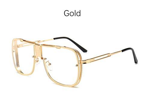 Cranky Orange Big Pilot Sonnenbrille Herren Fahrer Brille Platz photochrome Herren Sonnenbrille Trendprodukte 2019 schwarz maskuline Sonnenbrille, Gold