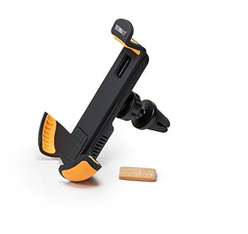 Technaxx Aroma Smartphone Autohalterung TE15, Smartphone-Halterung für KFZ-Lüftungsgitter mit Aromaduft