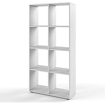 Regal ikea kallax  IKEA Regal Kallax das neue Expedit Regal 8 - Fach weiß 147 x 77 x ...