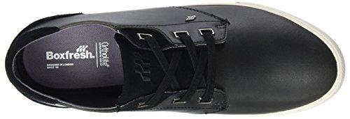 Boxfresh Herren Stern Sneaker Schwarz (Schwarz)