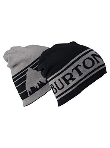 (Burton Herren Billboard Beanie Mütze, True Black/Iron Gray, One Size)