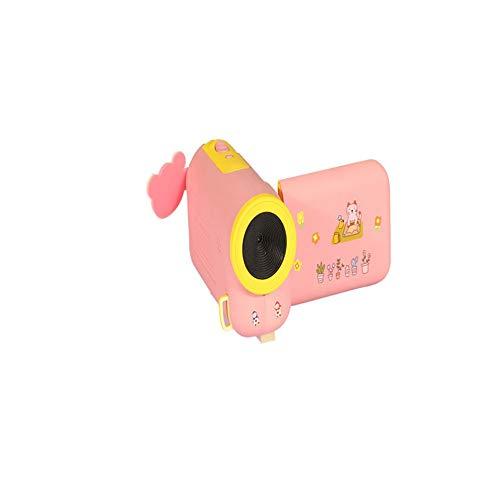 PETUNIA Videocamera D10 HD 1080P Impermeabile Sport Action Camera per Bambini (Rosa)