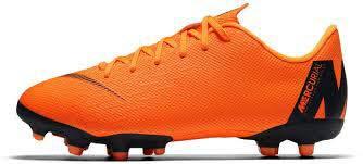 Nike Unisex-Kinder Jr. Mercurial Vapor XII Academy Fußballschuhe, Total Orange/Volt/Schwarz 810, 38.5 EU -