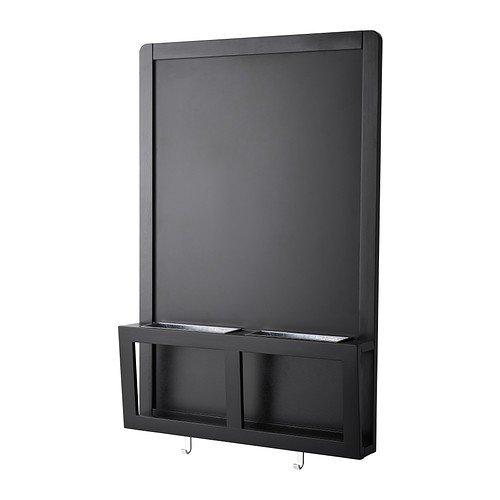 IKEA LUNS Schreib-/Magnettafel in schwarz; (48x71cm)