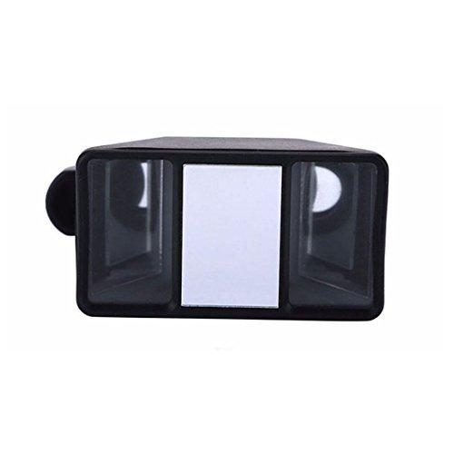 1pcs alta calidad Smartphone 3d Estereoscópica lente cámara 3d estéreo fotos lente ojo de pez con clip