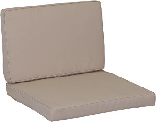 comprare on line beo cuscino cuscino cuscino ricambio per gruppi di Monaco Set sostituzione impermeabile Set con 8Lounge, spessore 5cm, Beige Chiaro prezzo
