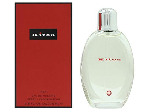 Kiton Men Eau de toilette mit Zerstäuber, 1er Pack (1 x 75 ml) -