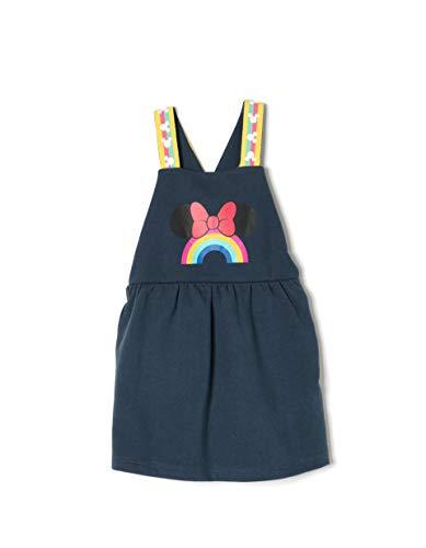 Zippy Baby-Mädchen Kleid Ztg05l09_455_1 Blau (Dress Blue 185) 74 (Herstellergröße: 6/9M)