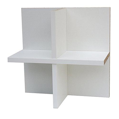 Anna CD Regal (flache Ausführung) Einsatz Erweiterung für Ikea Kallax Expedit